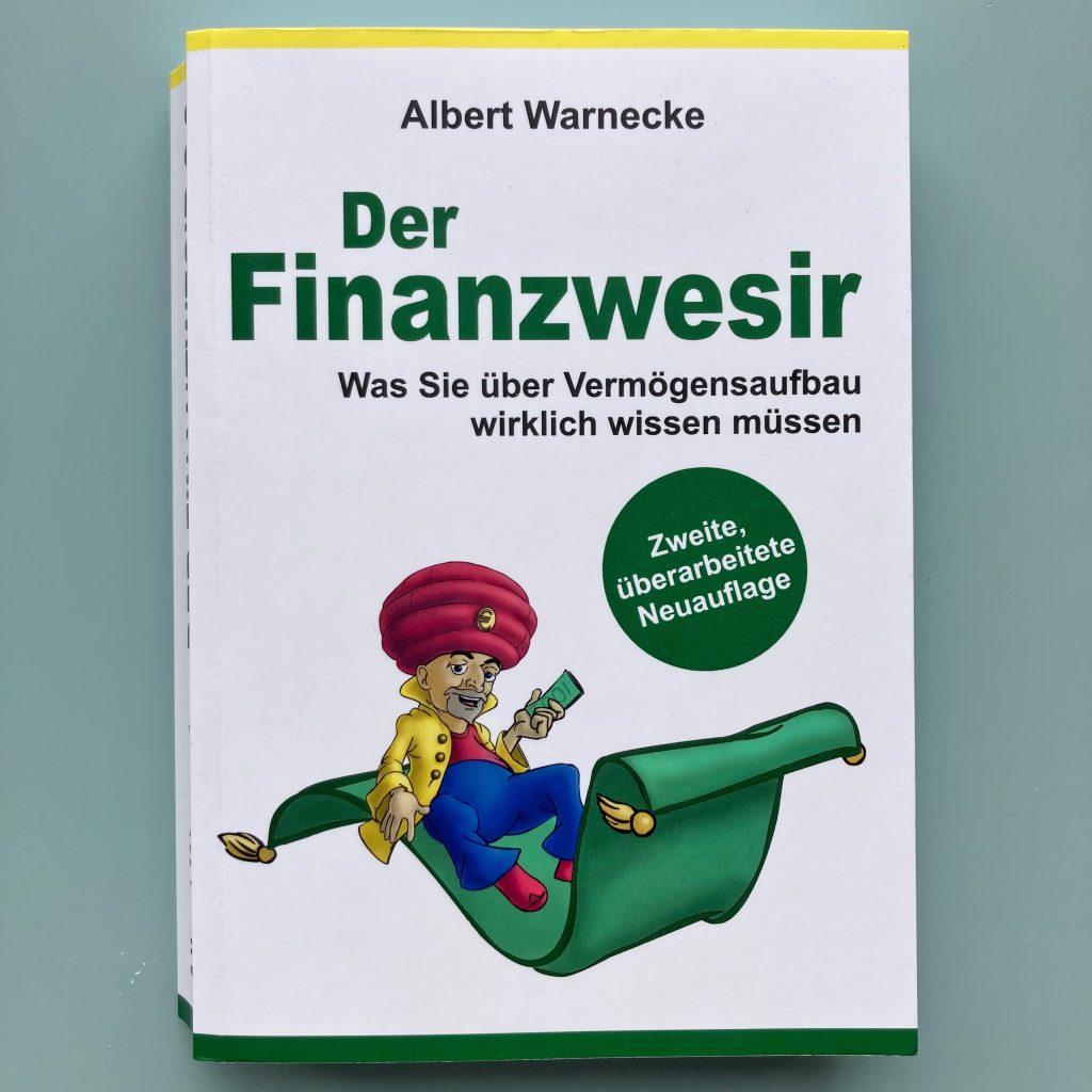 book cover of 'der finanzwesir' by albert warnecke