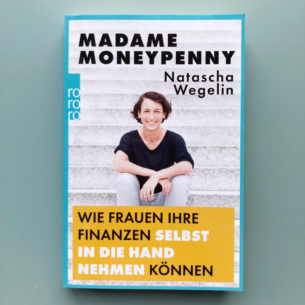 book cover of 'madame moneypenny' by natascha wegelin