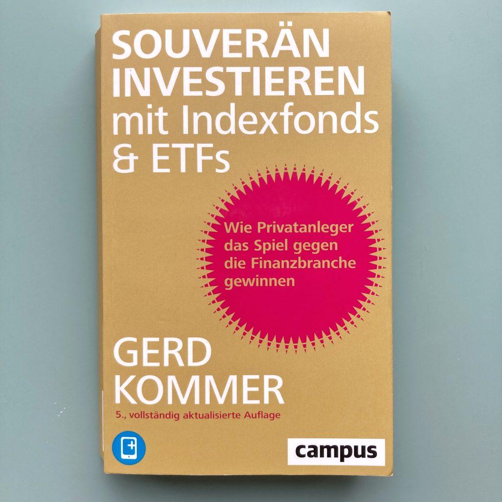 book cover of 'souverän investieren' by gerd kommer