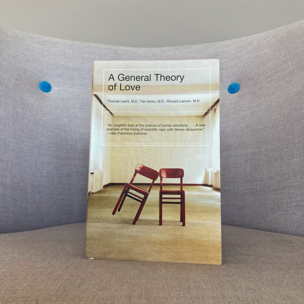 best nonfiction books for singles : a general theory of love
