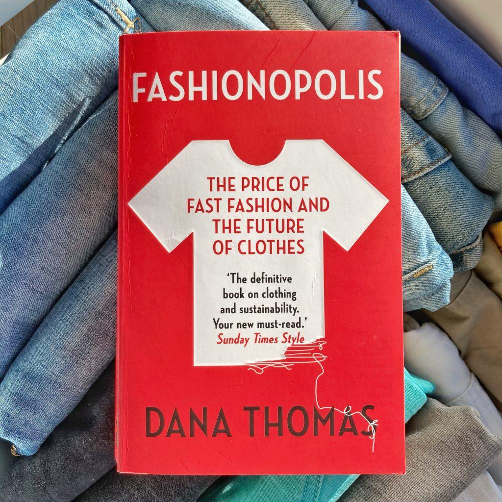 the cover of fashionopolis by dana thomas